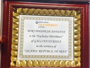 نمایندگی رسمی محصولات گالینا